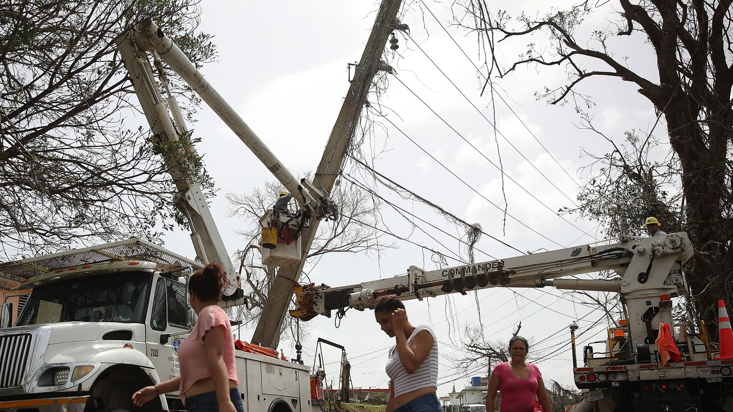 power lines, puerto rico recovery, hurricane maria75583902-159532