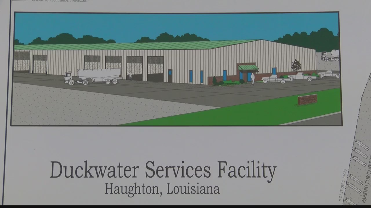 New business coming to Haughton