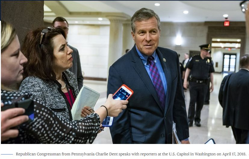 U.S. Rep Charlie Dent speaks with reporters on 4-17 - 4-28-18_1524956687462.JPG.jpg