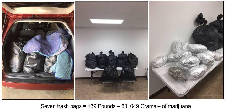 139 pounds of marijuana - Bienville Parish - 6-19-18_1529434526422.JPG.jpg