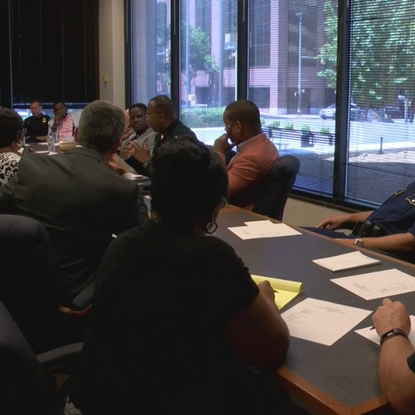 Elected officials and law enforcement discuss Shreveport/Caddo crime initiative