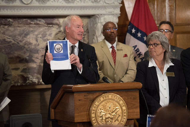 Gov. Asa Hutchinson receives School Safety Commission preliminary report_1530652927966.jpg.jpg