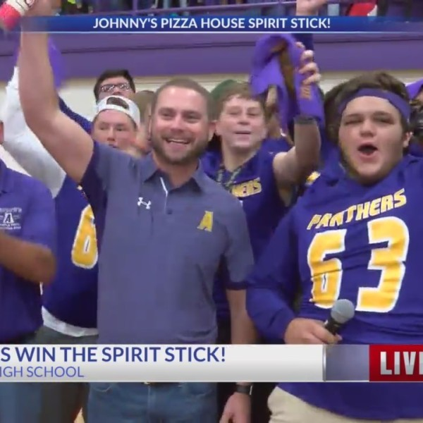 Panthers win the Spirit Stick!