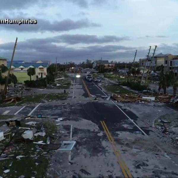 Hurricane Michael: Searching for survivors