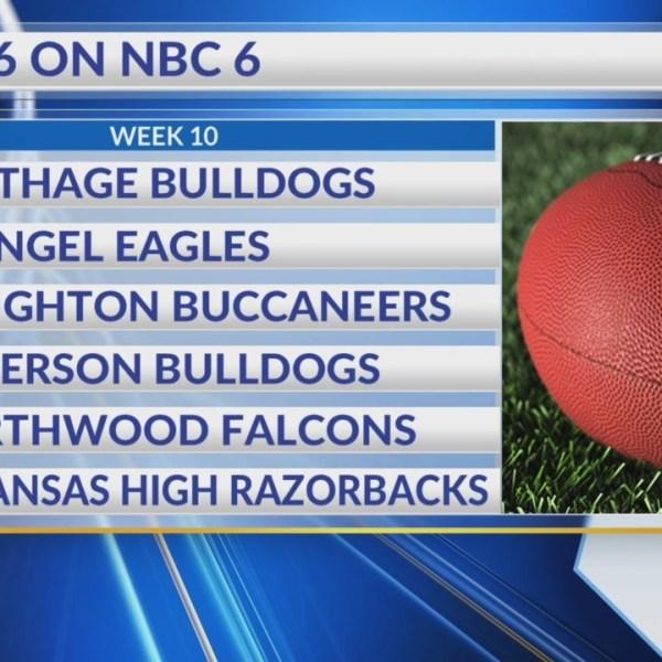Top 6 on NBC 6 Week 10