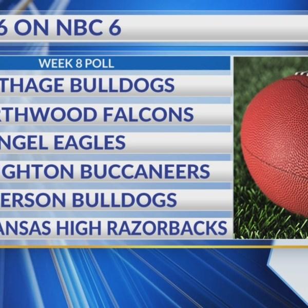 Top 6 on NBC 6 Week 8