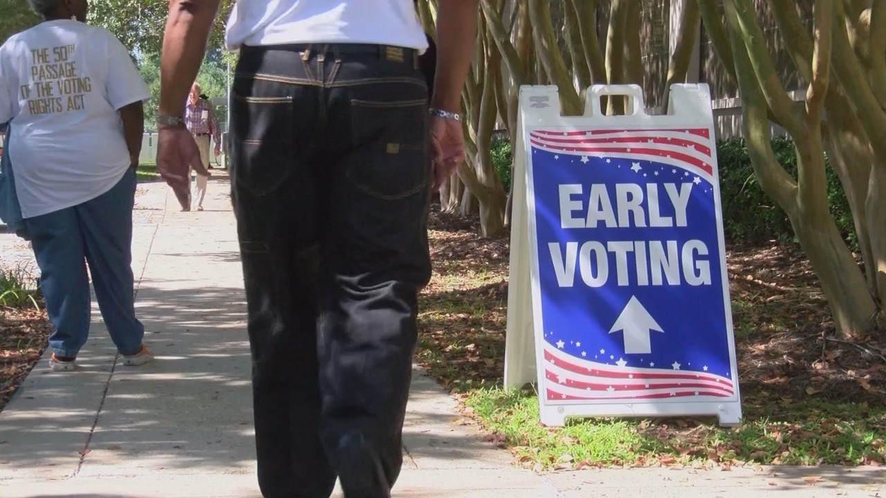 Lowest turnout ever on first day of early voting in Louisiana