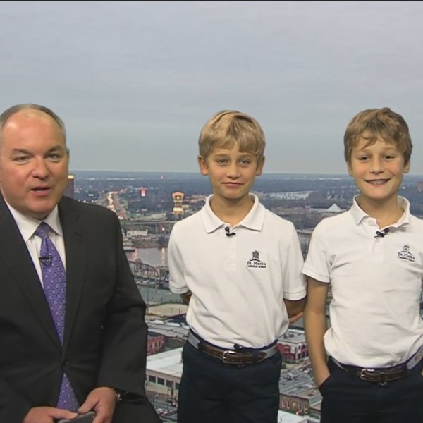 Kidcast Weather:  Ollie and Max Storer