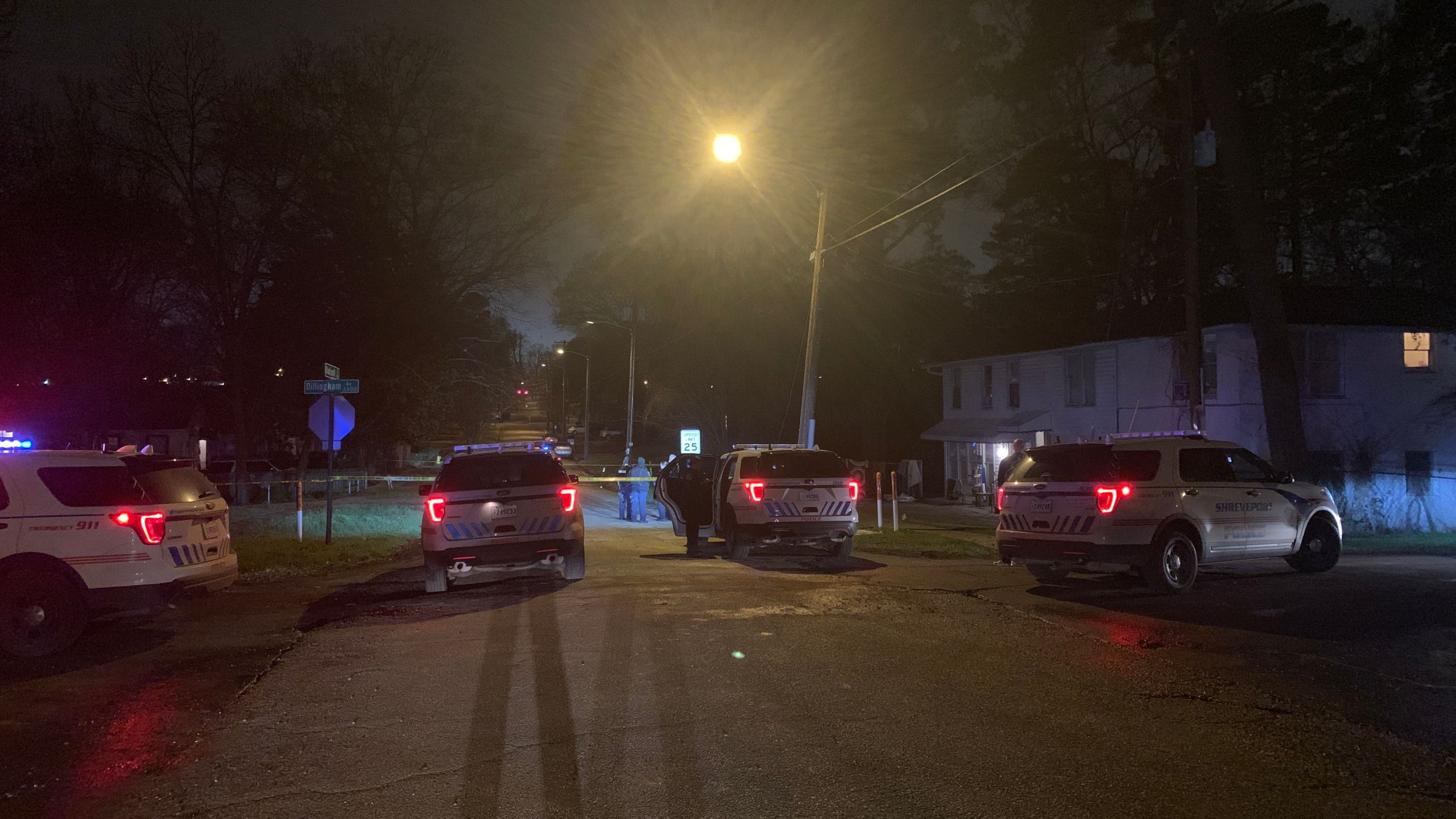 Shooting investigation Dalzell and Creswell