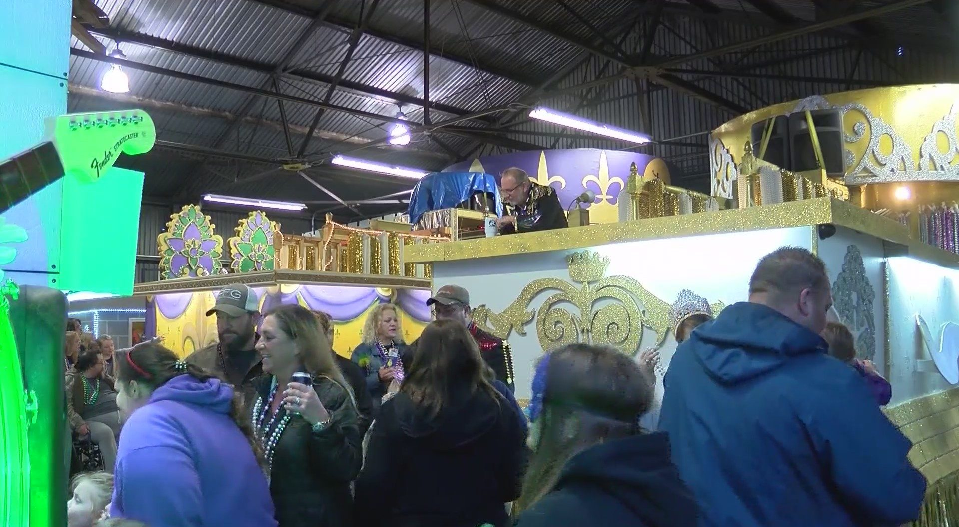 Krewe of Centaur Float Loading Party