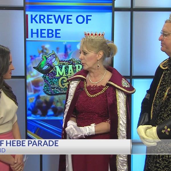 Krewe of Hebe 2019 Parade