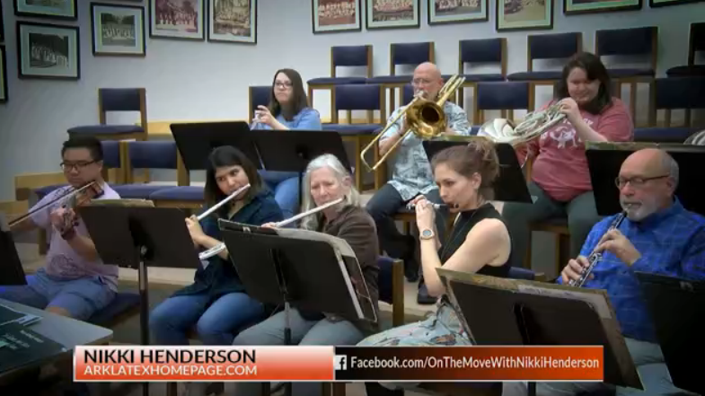 On the Move with Nikki: Centenary Wind Ensemble