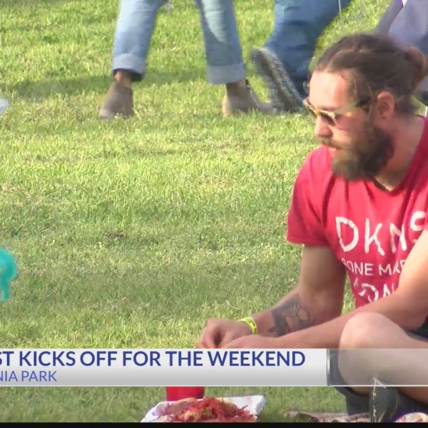 Crawfest kicks off this weekend