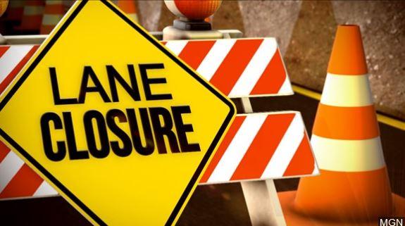 Lane closure 3-31-19_1554057819155.JPG.jpg