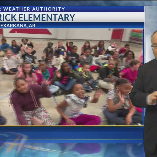 Todd Warren visits Kilpatrick Elementary