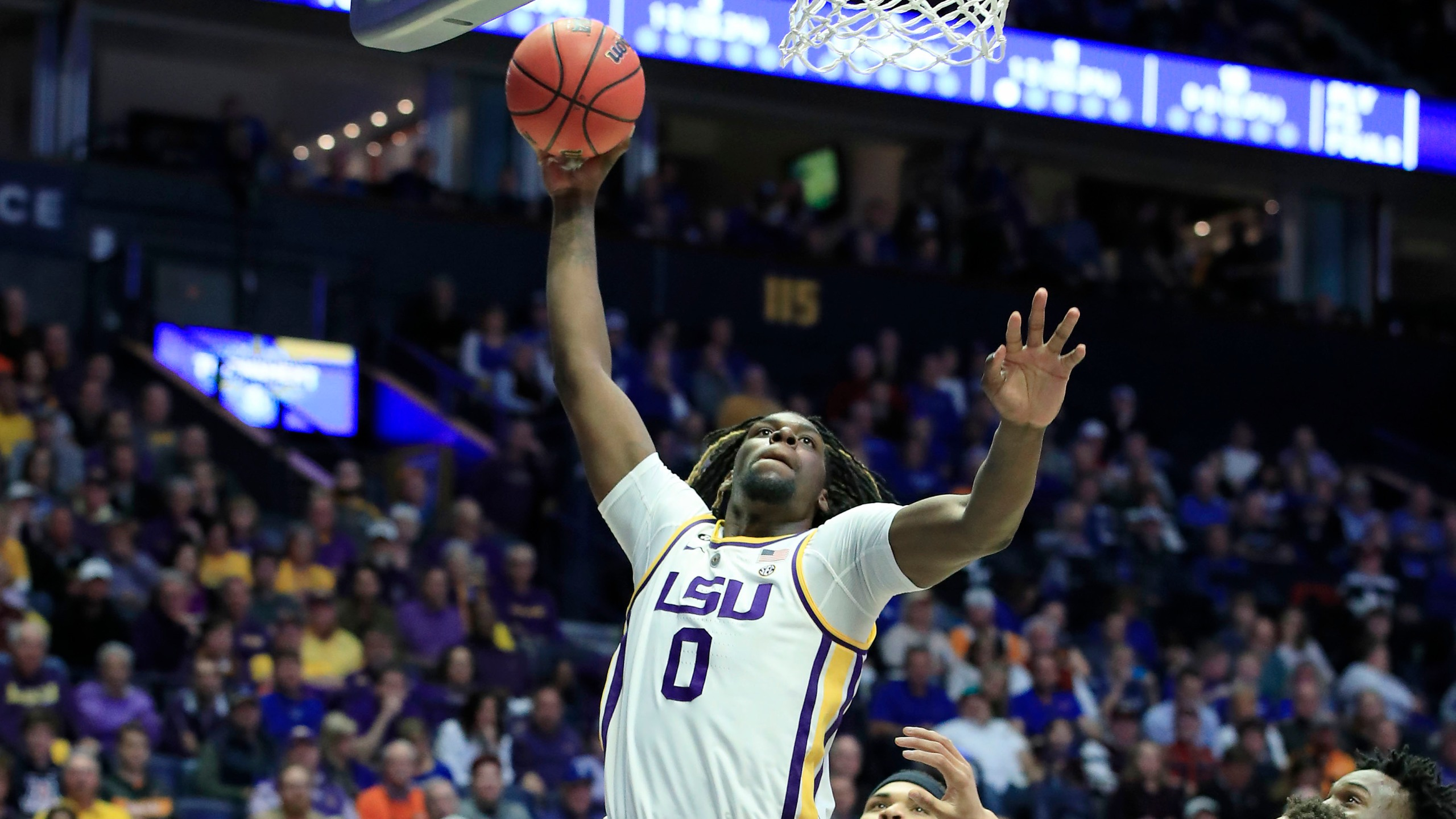Naz Reid LSU SEC Tournament