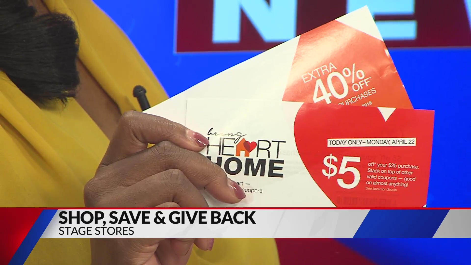 Shop and save at Stage Stores while giving to Heart Association (Fox)