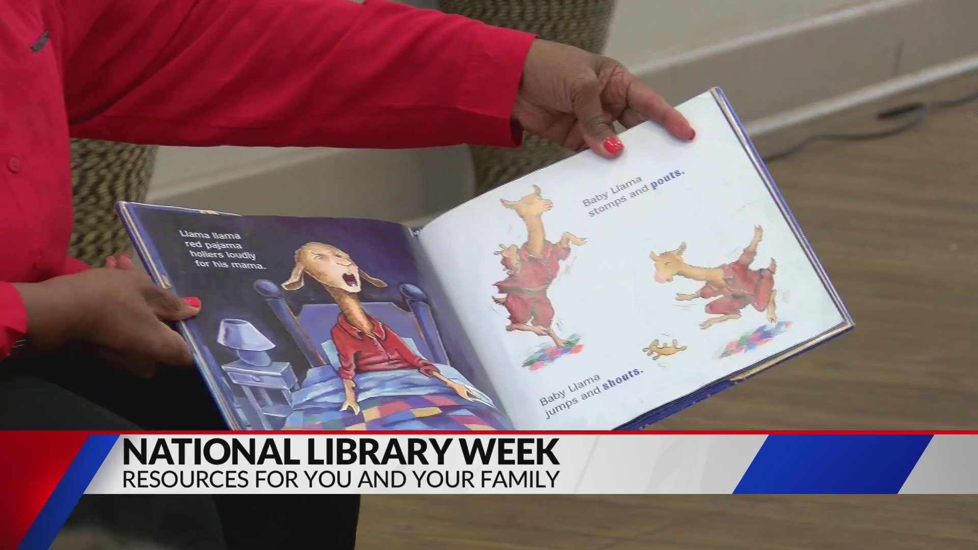 Shreve Memorial Library Celebrating National Library Week FOX