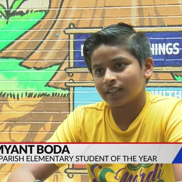 Standout Student: Shamyant Boda
