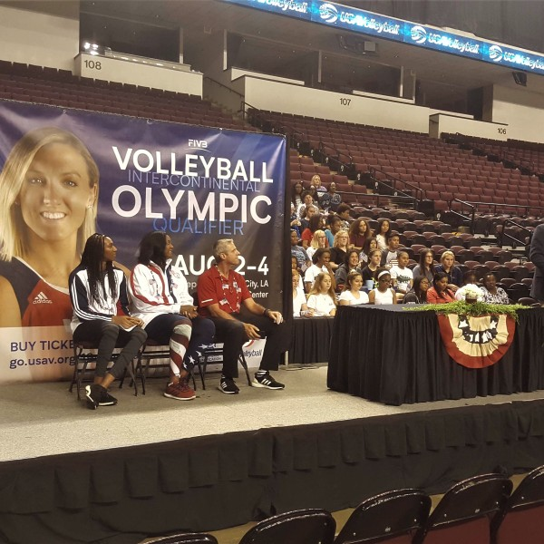 Team USA Womens Volleyball Olympics Bossier hosting announcement_1556230196550.jpg.jpg