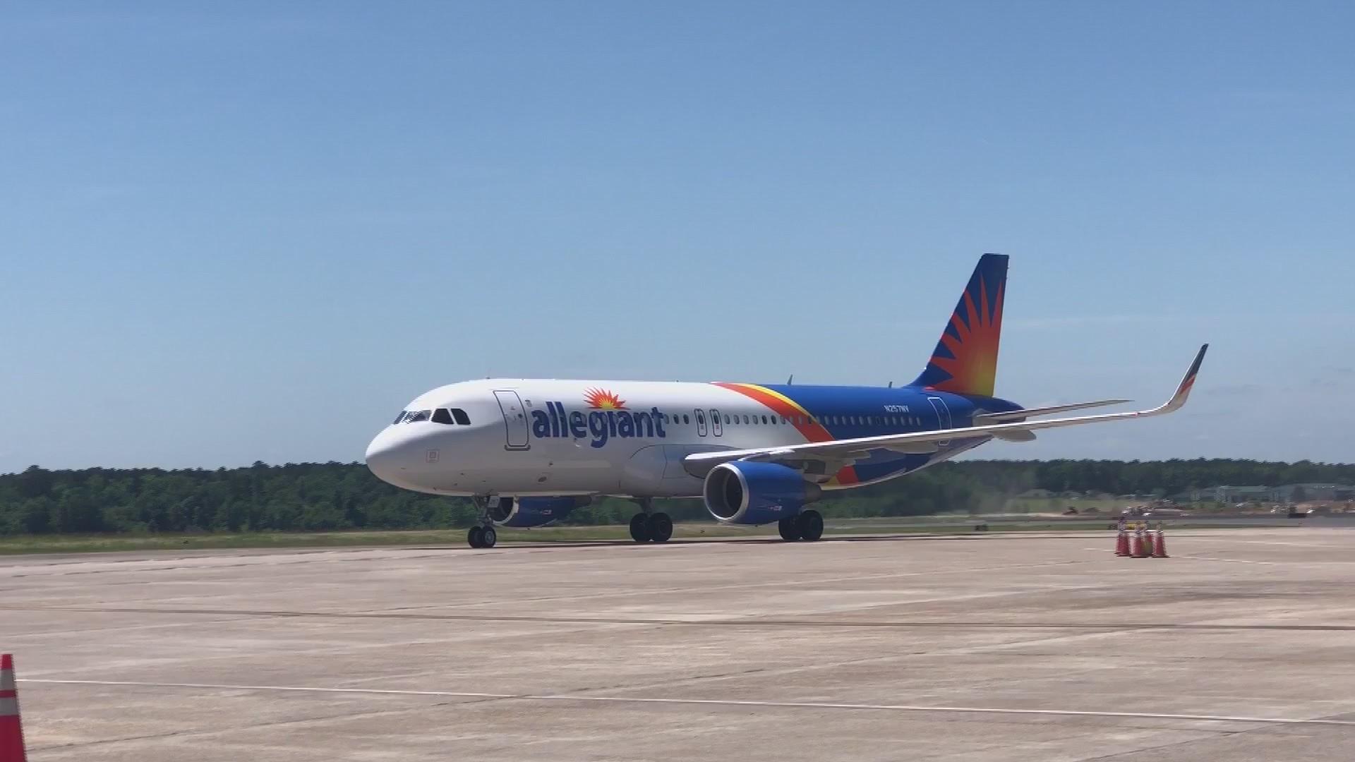 Allegiant's New Flight in Shreveport