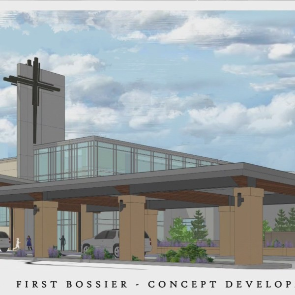 First Bossier rolls out rebuild design plans
