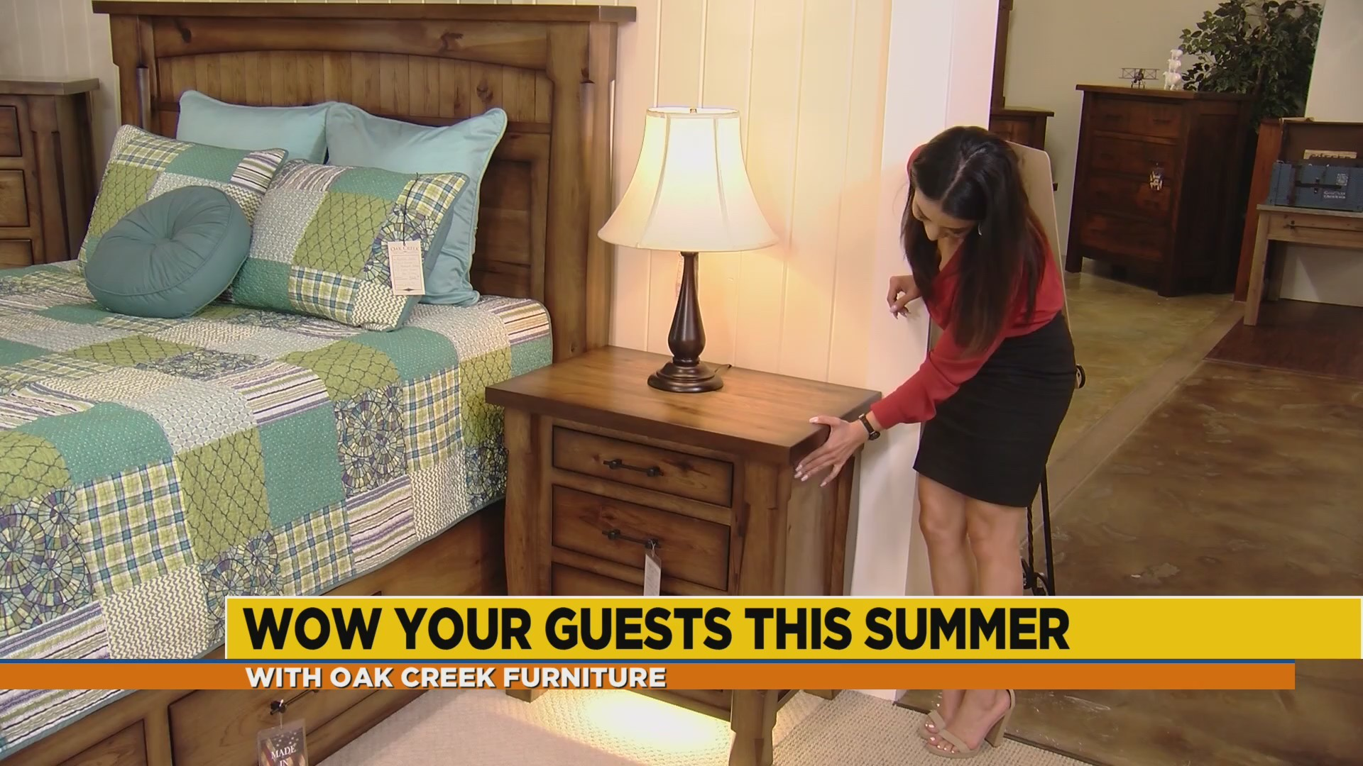 Give your home a new look with Oak Creek Furniture