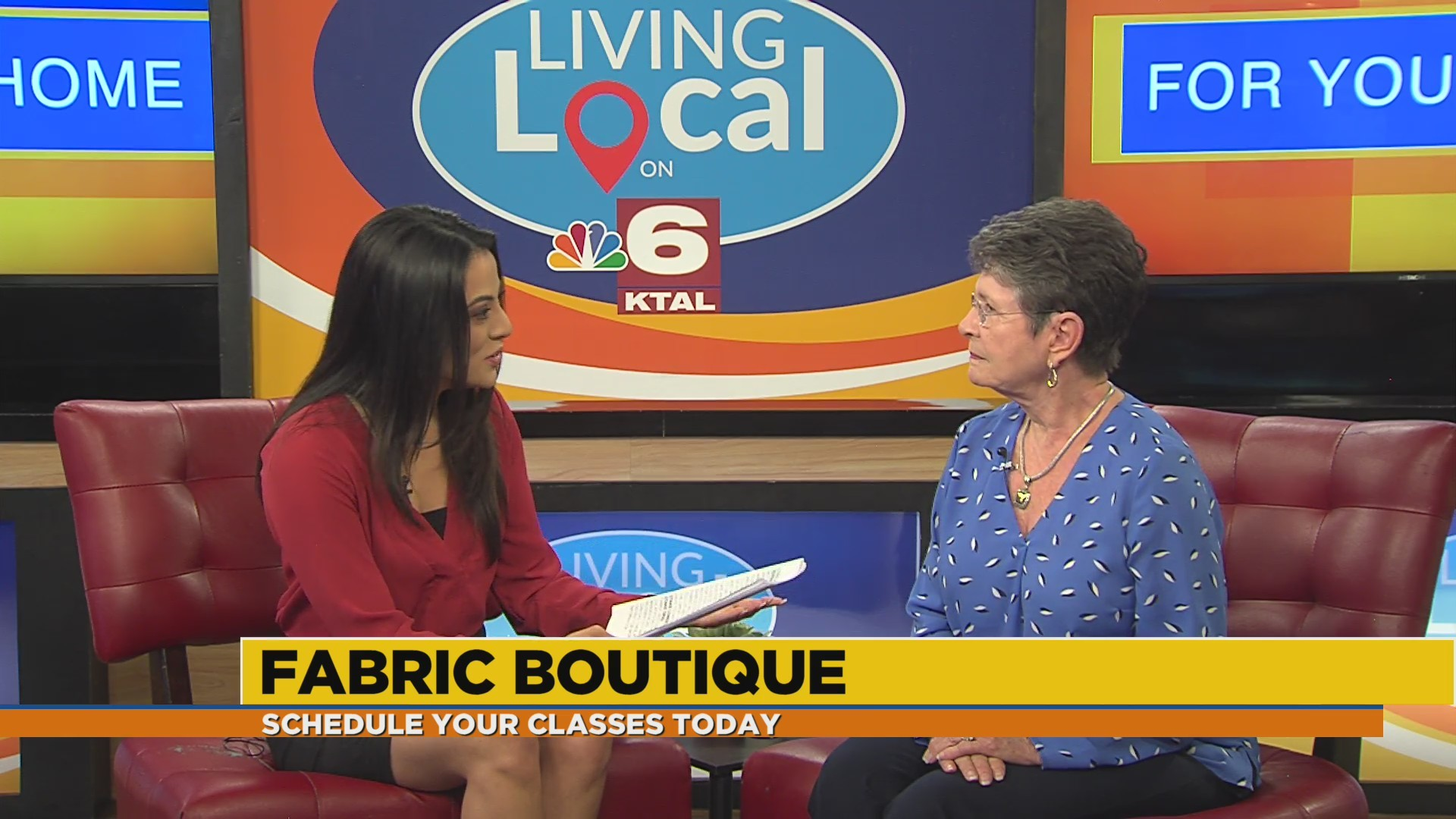 Sewing, embroidery & quilting classes with Fabric Boutique