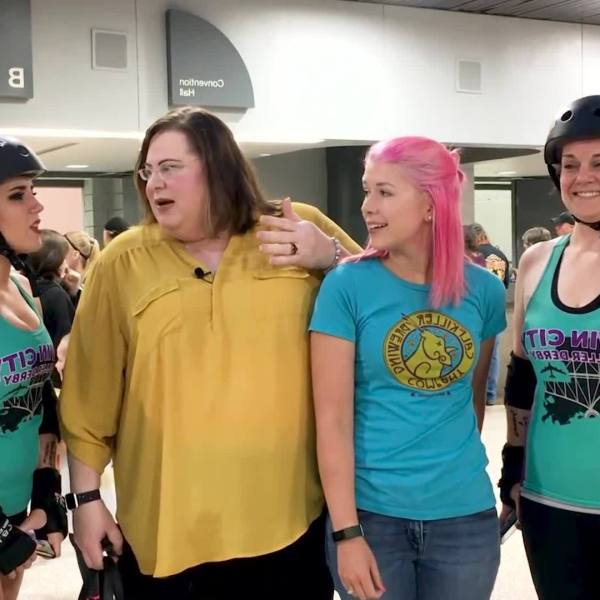 The Lynn Vance Show 112 / Twin City Roller Derby