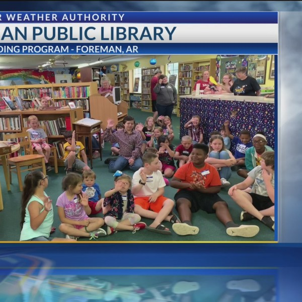 Foreman Summer Reading Program welcomes Todd Warren