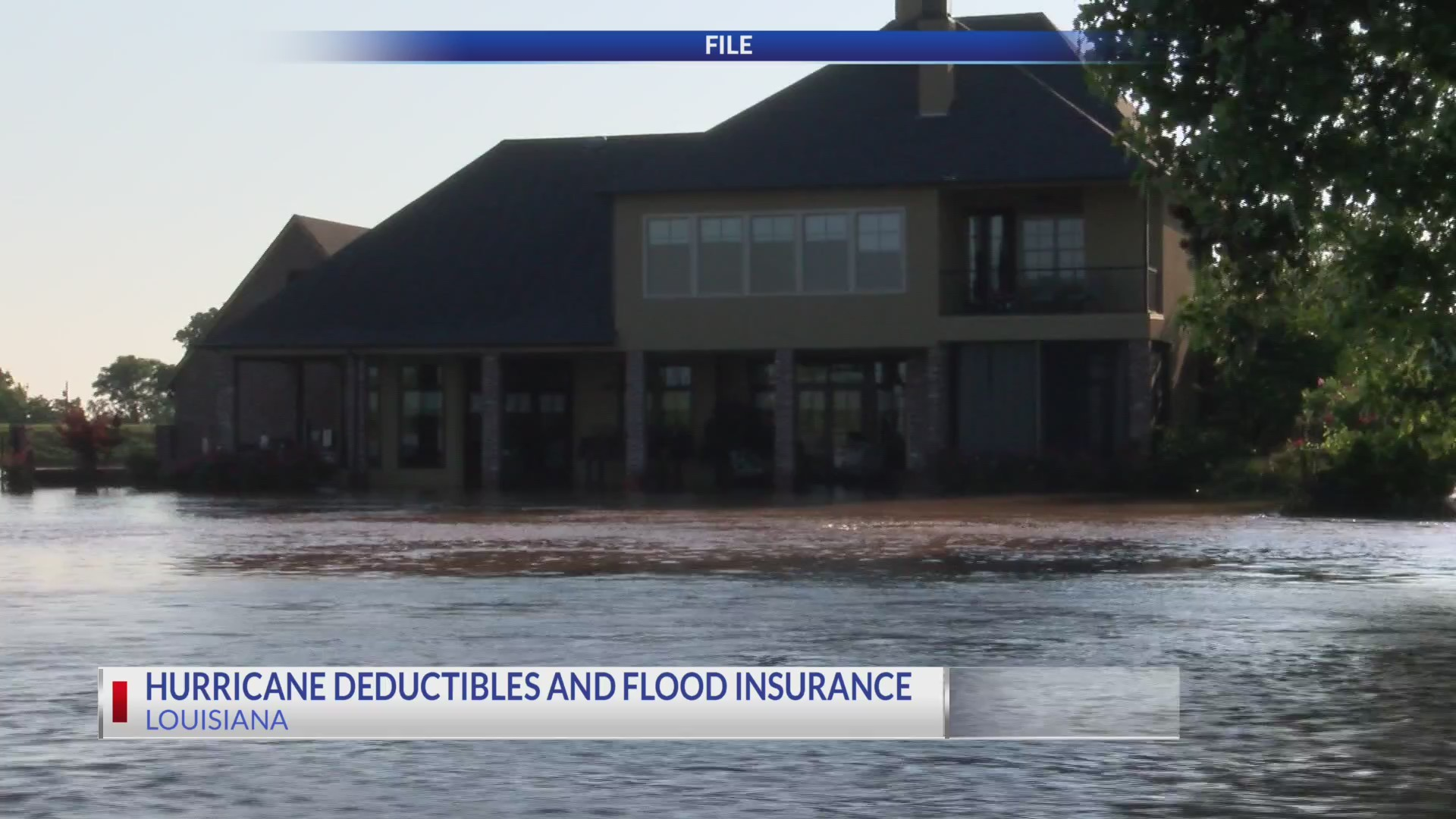 La Insurance Commissioner talks hurricane deductible and flood insurance