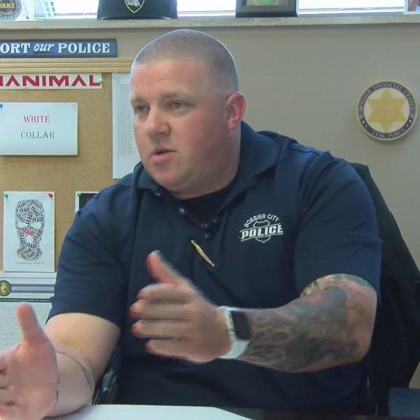 Salute The Badge: Sgt. Chris Davis