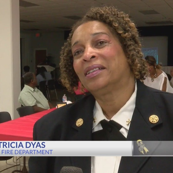 Shreveport Fire Chief Patricia Dyas retires