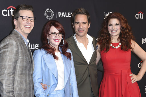 Sean Hayes,Megan Mullally,Eric McCormack,Debra Messing