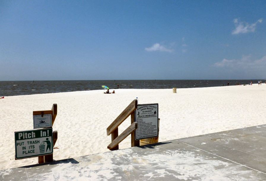 Bacteria Close Mississippi Gulf Coast Mainland Beaches