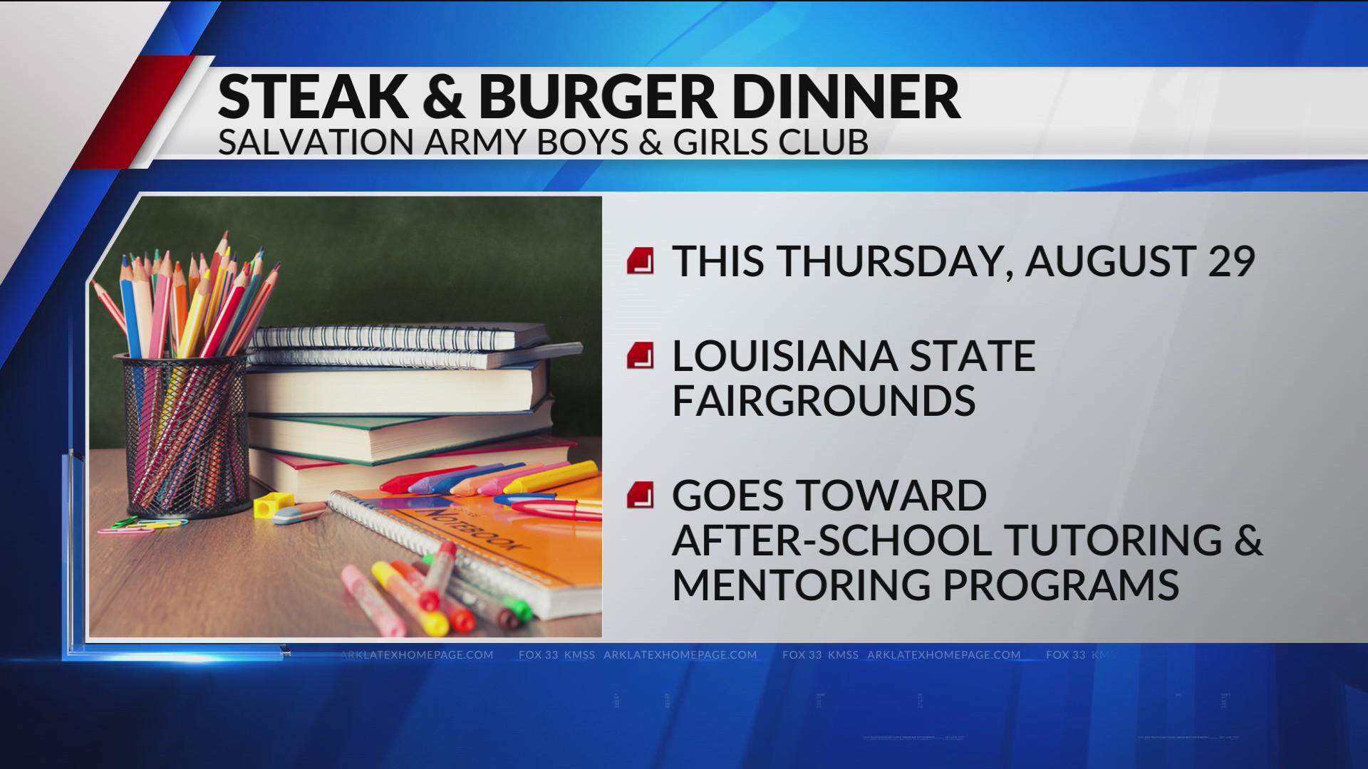 2019 Steak and Burger Dinner raises money for local students