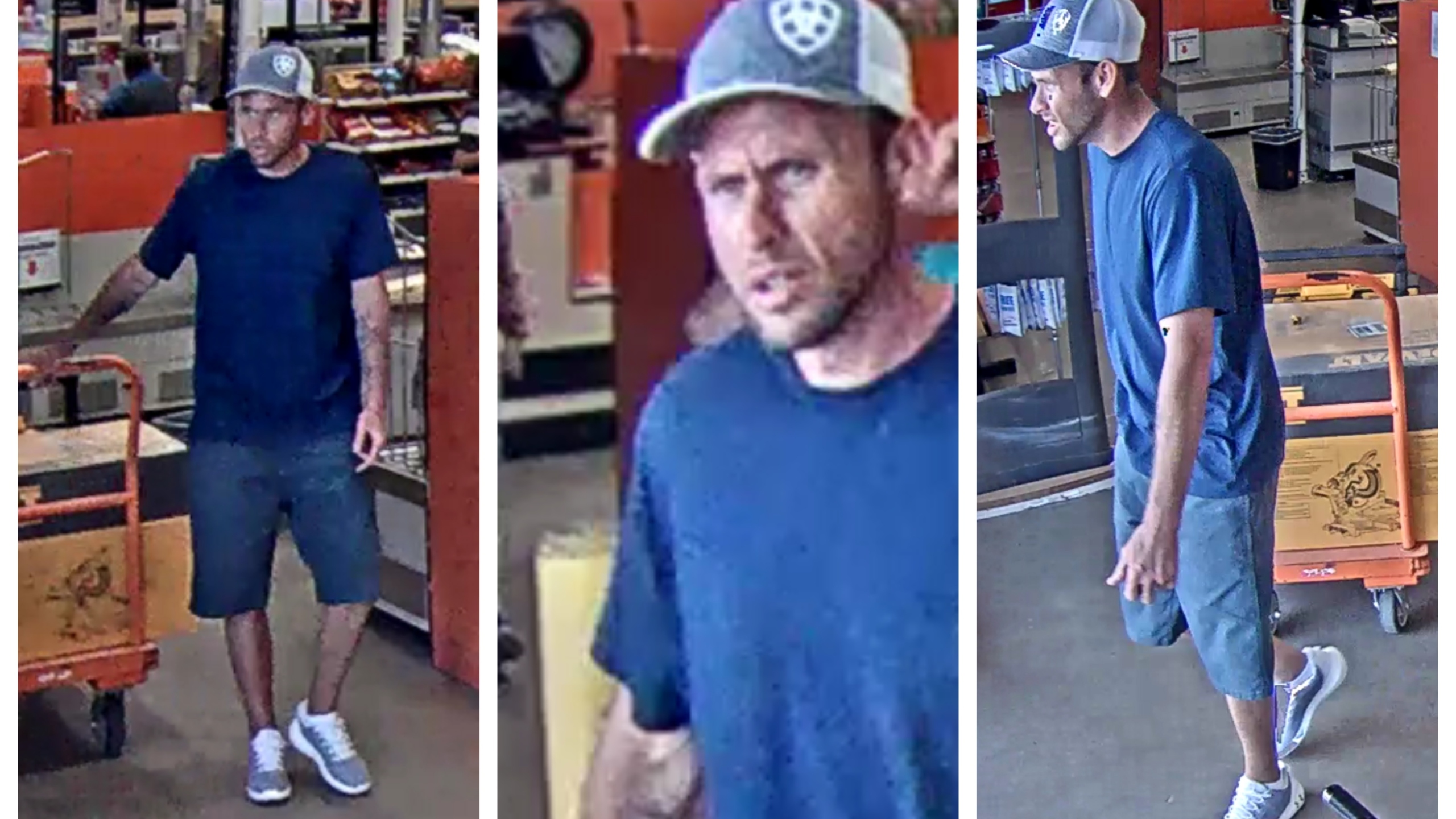 Suspected Home Depot Thief On The Run Arklatexhomepage