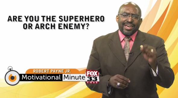 Motivational Minute: Superhero
