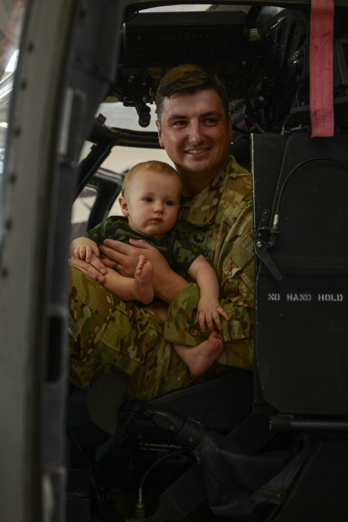 Louisiana National Guard Aviators deploy for a year in