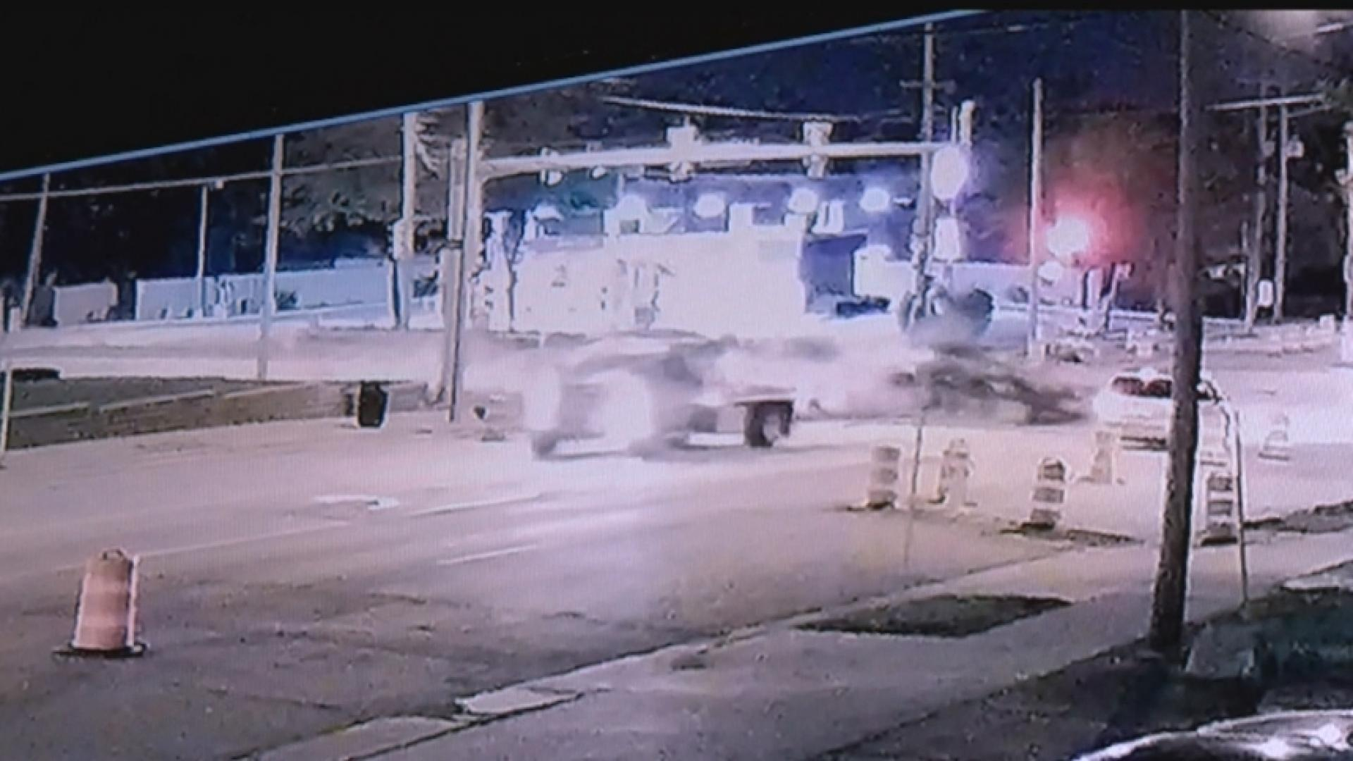 VIDEO: High-speed chase ends in violent crash | ArkLaTexHomepage