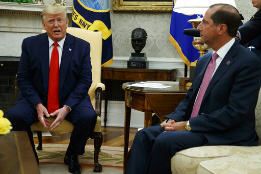 Donald Trump, Alex Azar