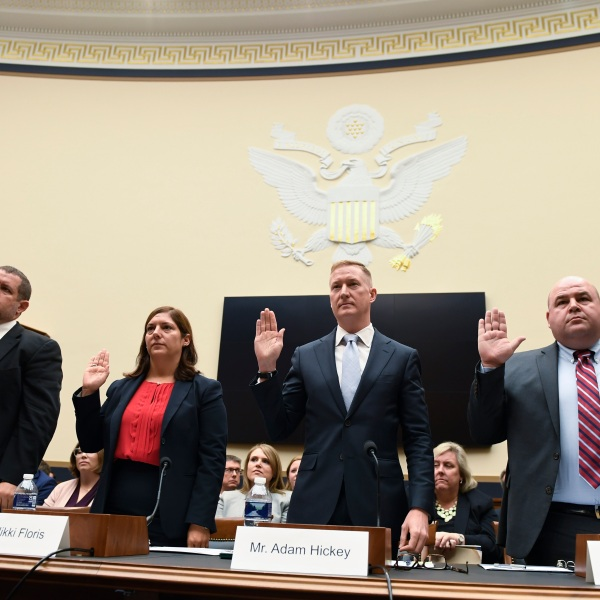 Nikki Floris, Adam Hickey, Matthew Masterson, Ben Hoveland
