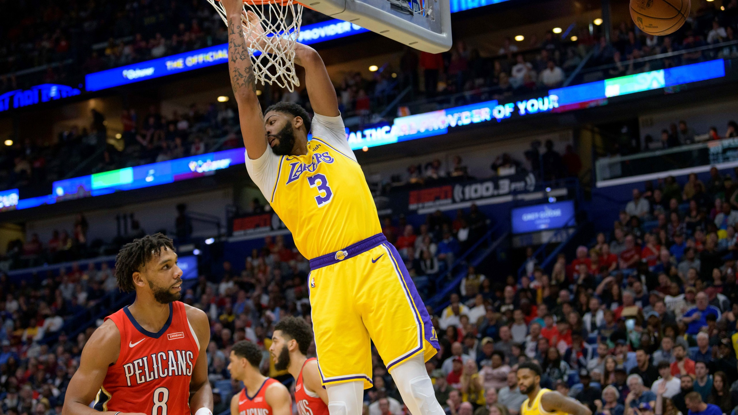Lakers Anthony Davis To Wear Own Name On Jersey In Orlando Arklatexhomepage