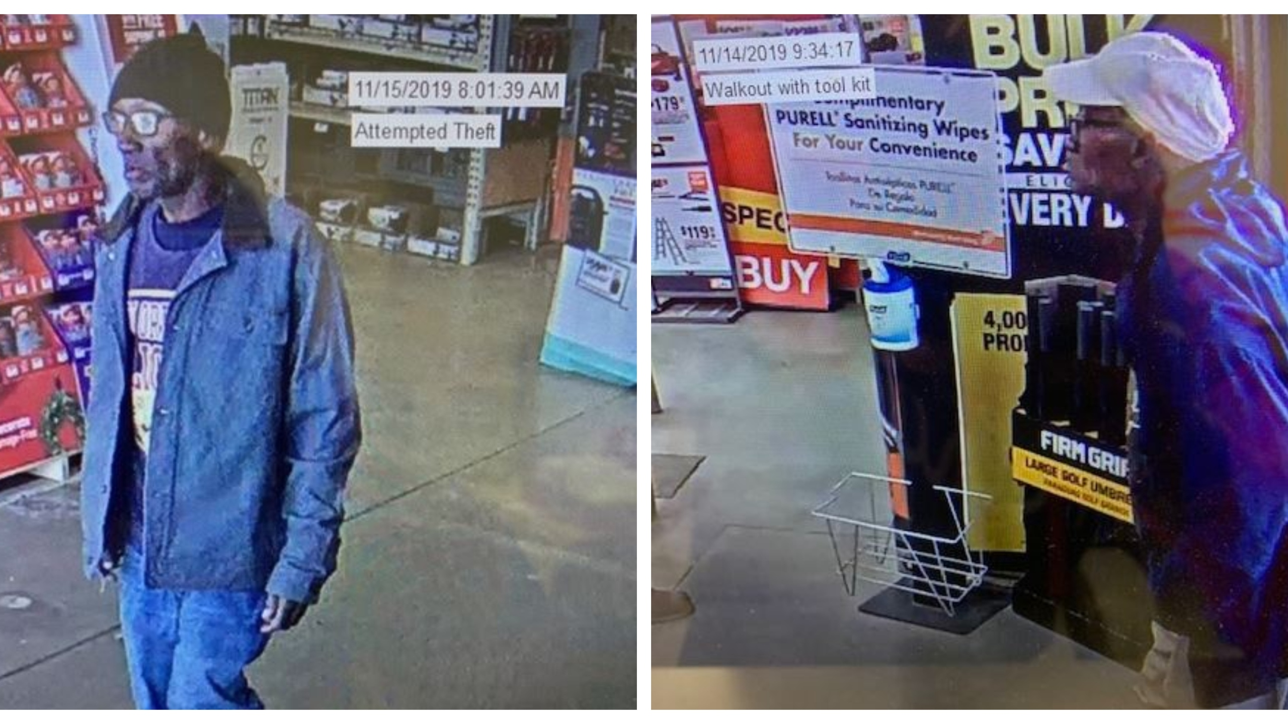 Suspect Caught On Camera Stealing From Shreveport Business