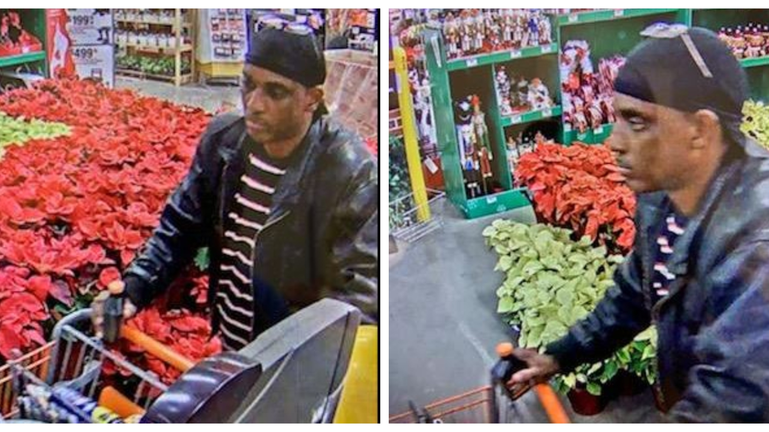 Spd On The Hunt For Suspect In Home Depot Theft