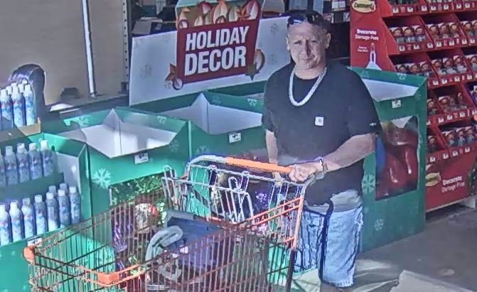 Home Depot Theft Suspect Caught On Camera Arklatexhomepage