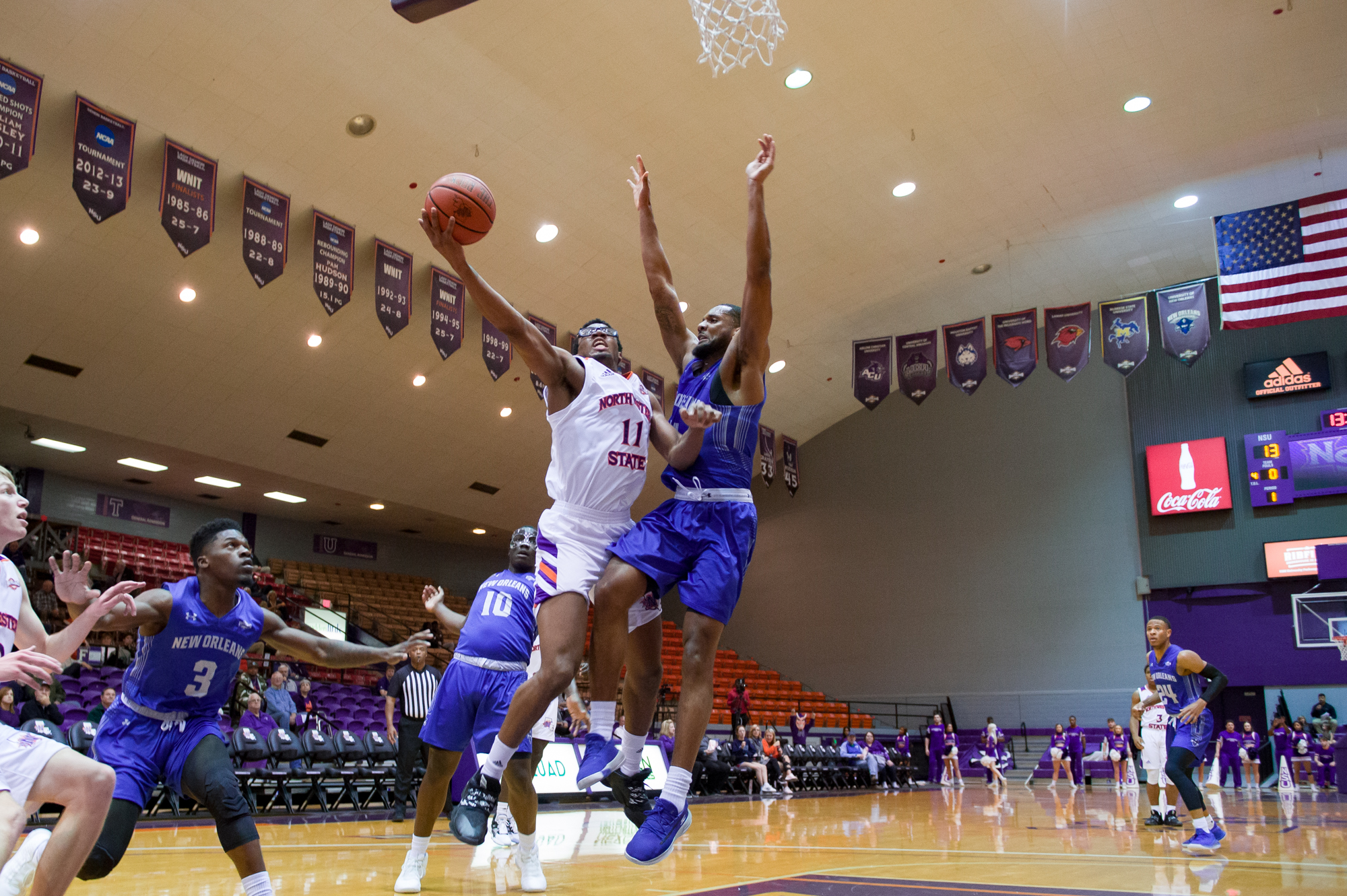 northwestern state strengthens slc tournament fate with big win against new orleans arklatexhomepage arklatexhomepage