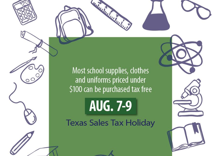 Save Money On School Supplies During Texas Sales Tax Holiday Arklatexhomepage