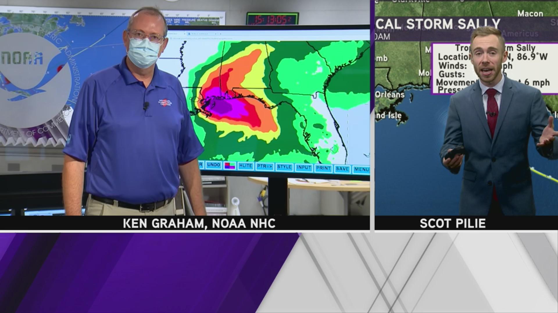 Noaa National Hurricane Center Director Ken Graham About Tropical Storm Sally Arklatexhomepage