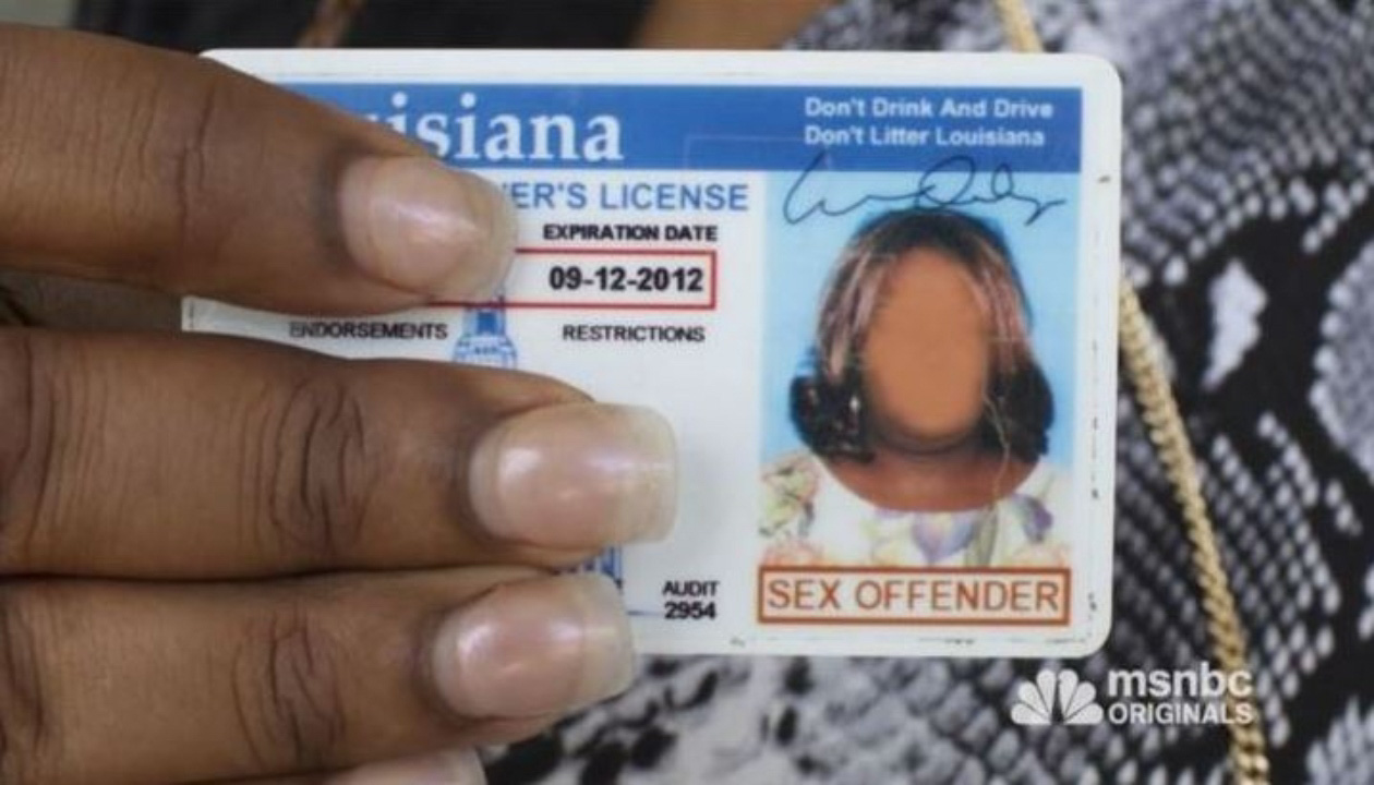 Louisiana state police sex offender list
